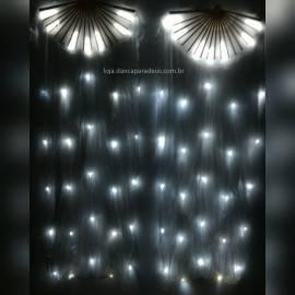 Par Leque LED Fan Véu Dança