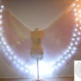 Asa Wings de LED c/ Abertura Adulto