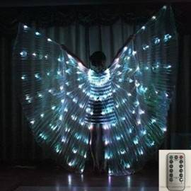 Asa Wings LED c/Abertura Controle Remoto 8 Funções
