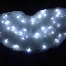 Saia Tutu Tule de LED Adulto