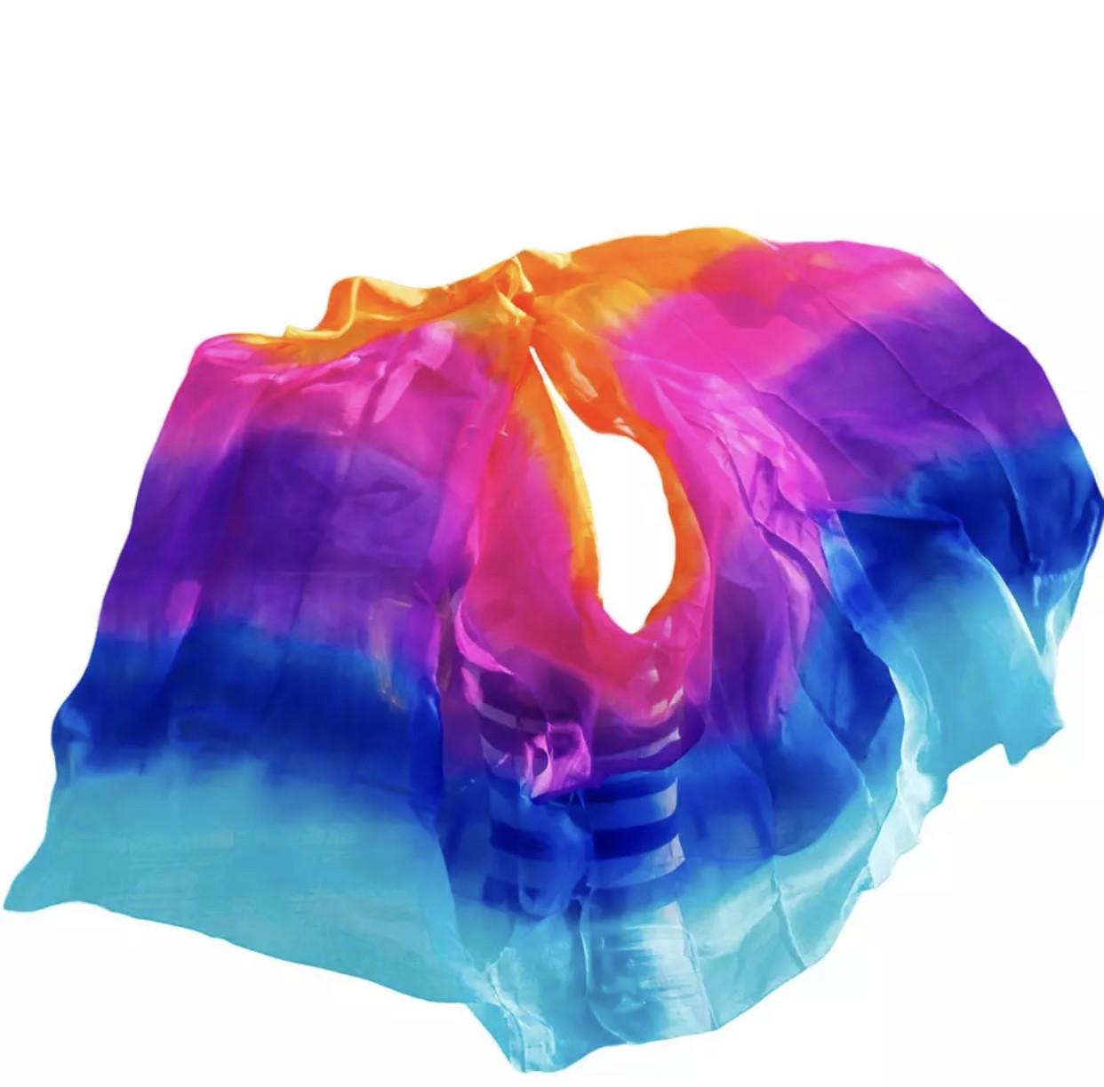 Véu colorido 5 cores
